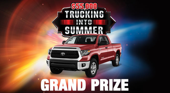 Trucking Into Summer Grand Prize web