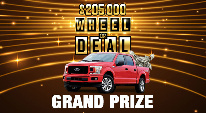 Wheel or Deal Grand Prize web