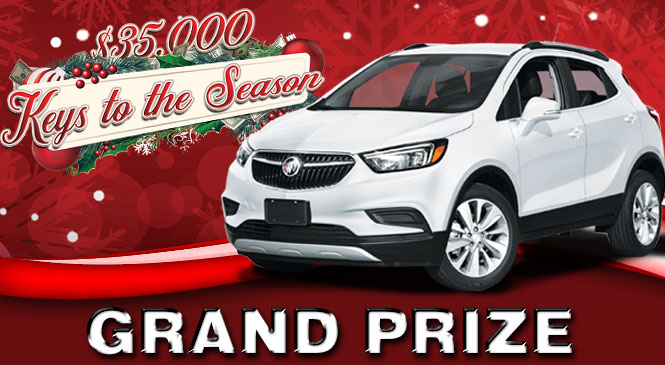 Keys To the Season Grand Prize web