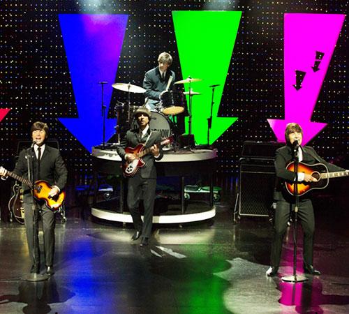 Beatleshow web