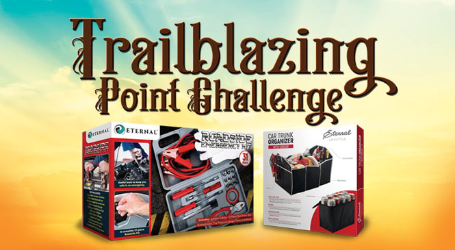 Trailblazin' Point Challenge web